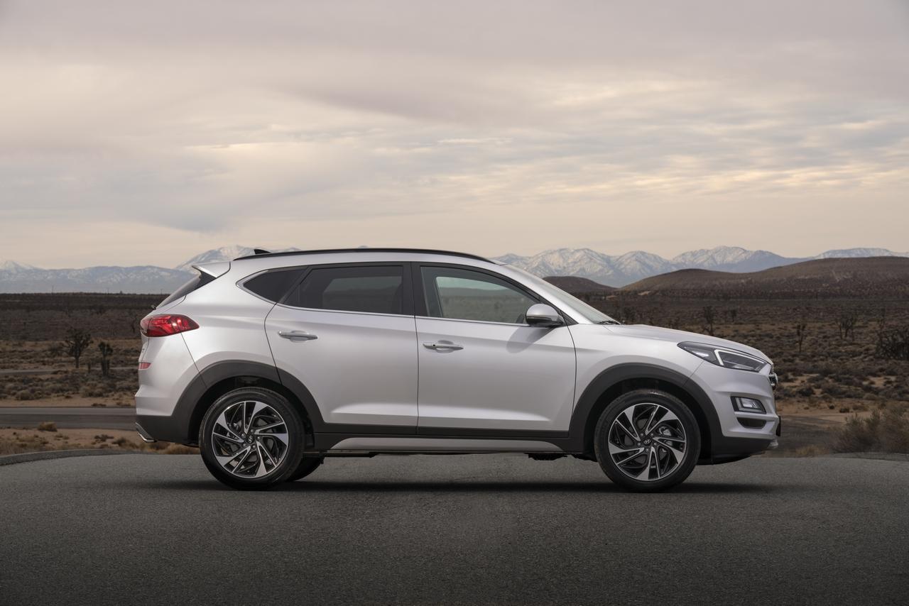 2019 Hyundai Tucson (facelift) profile