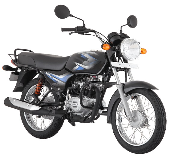 Bajaj CT100 B press front right quarter
