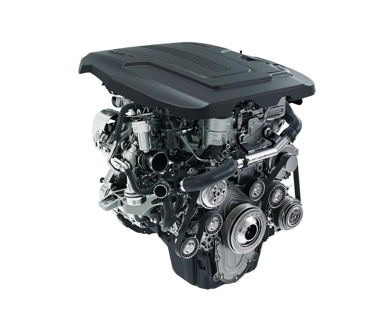 Jaguar 2.0-litre Ingenium petrol engine