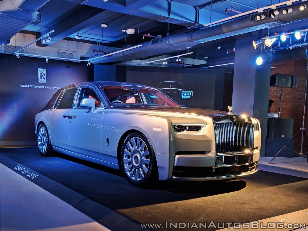 2018 Rolls Royce Phantom priced from INR 9.5 Crore in India