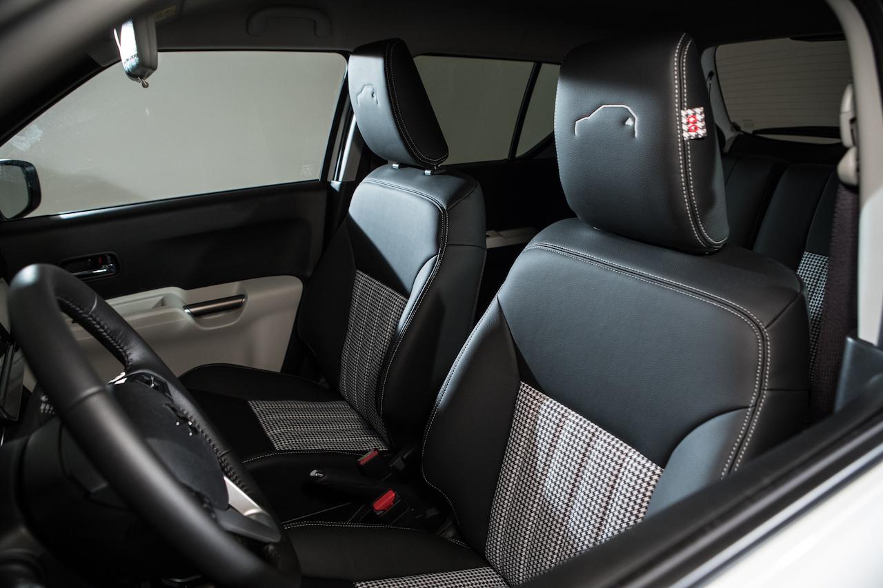 Suzuki Ignis Ginza interior