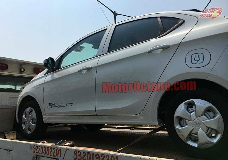 Tata Tigor Electric spy shot