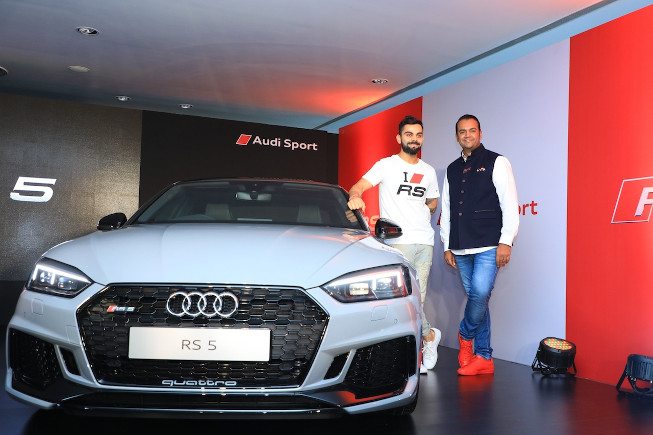 2018 Audi RS 5 Coupe launched in India Virat Kohli