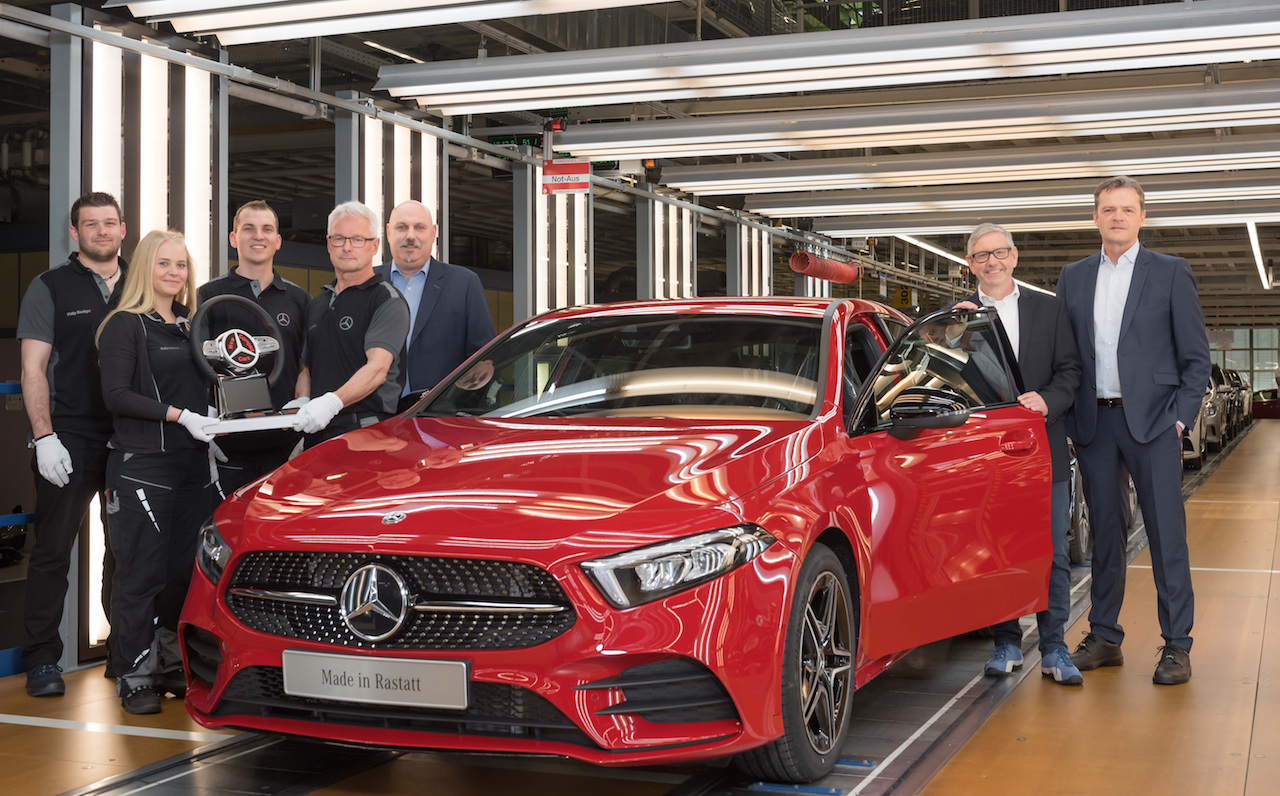 2018 Mercedes A-Class production commencement.jpg