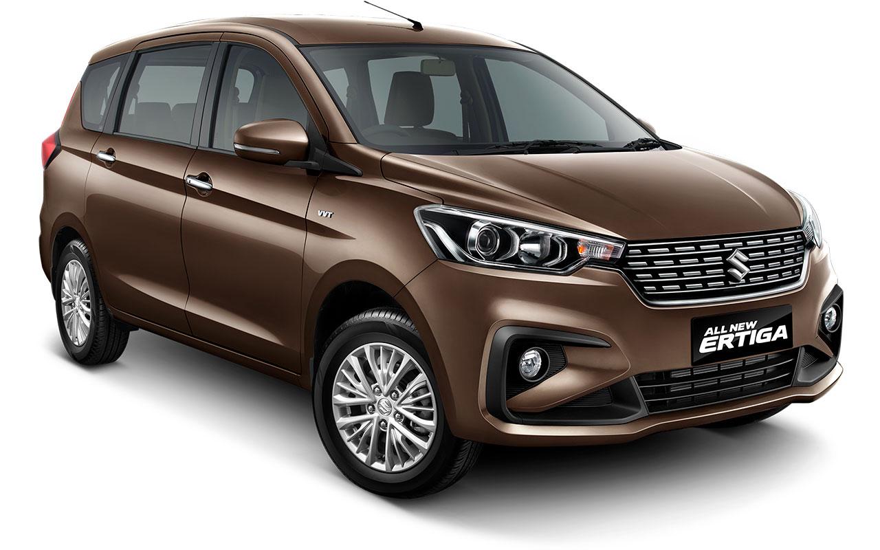 2018 Suzuki Ertiga (2018 Maruti Ertiga) Pearl Glorious Brown