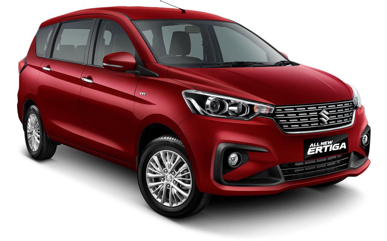 2018 Suzuki Ertiga 2018 Maruti Ertiga Pearl Radiant Red