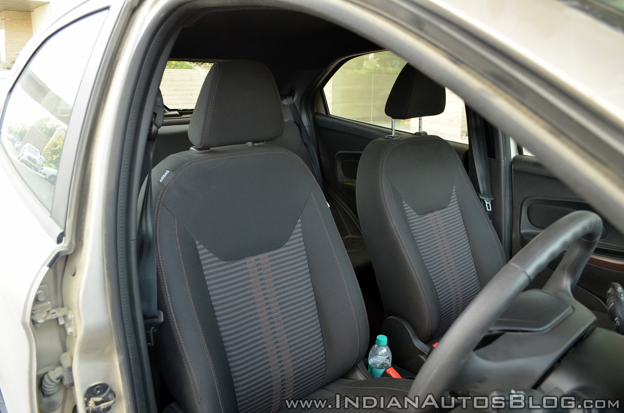 Ford Freestyle review front seats