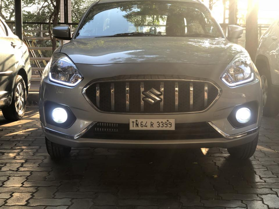 Maruti Dzire with S-Cross grille