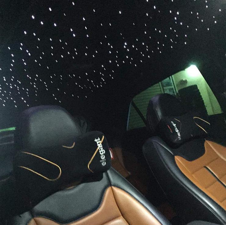 Maruti Swift with Rolls Royce like Starlight Headliner