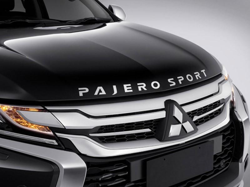 Mitsubishi Pajero Sport Rockford Fosgate Hood Emblem
