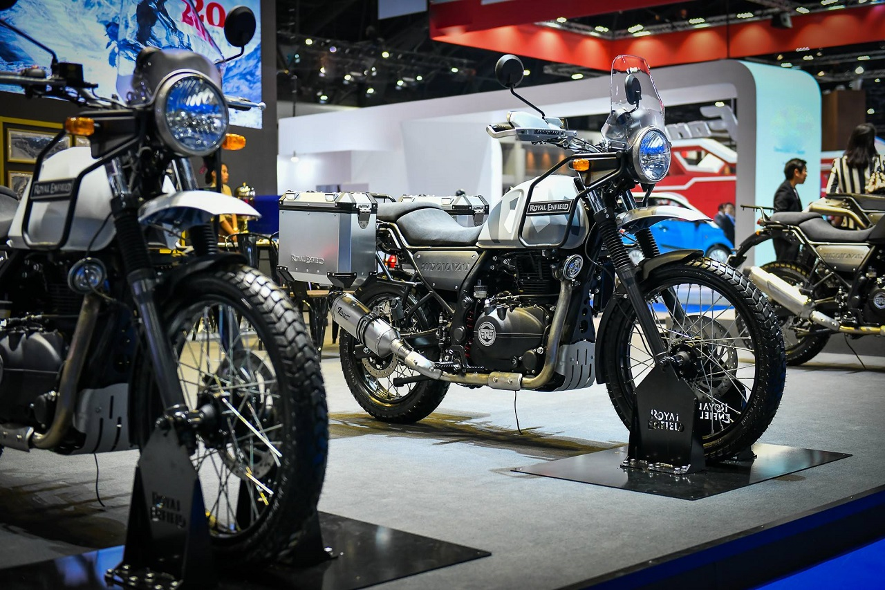 Royal Enfield Himalayan Sleet Launched In Thailand