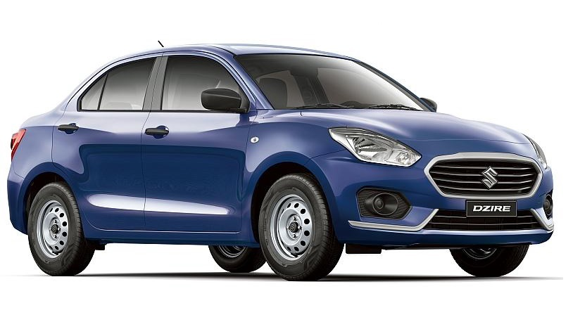 Suzuki Dzire GA front three quarters