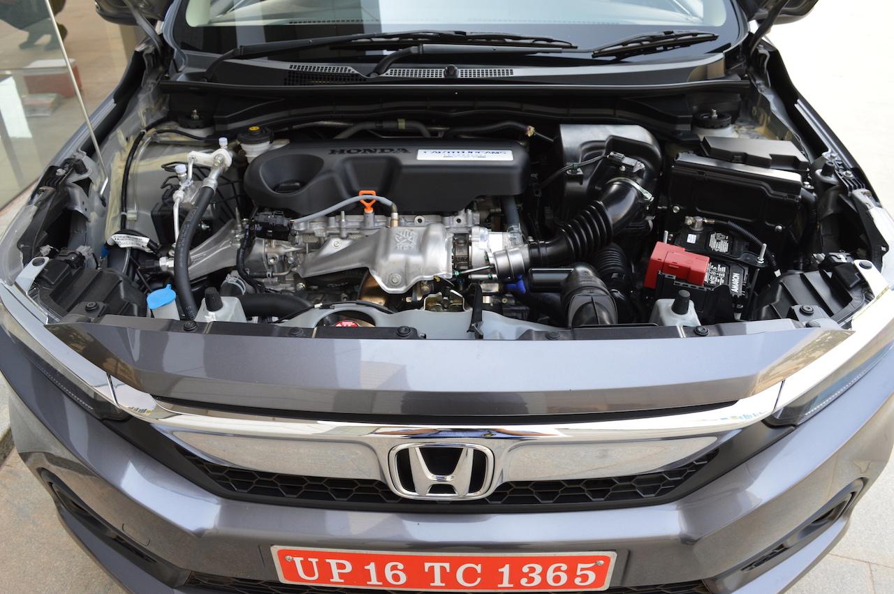 2018 Honda Amaze i-DTEC diesel engine bay