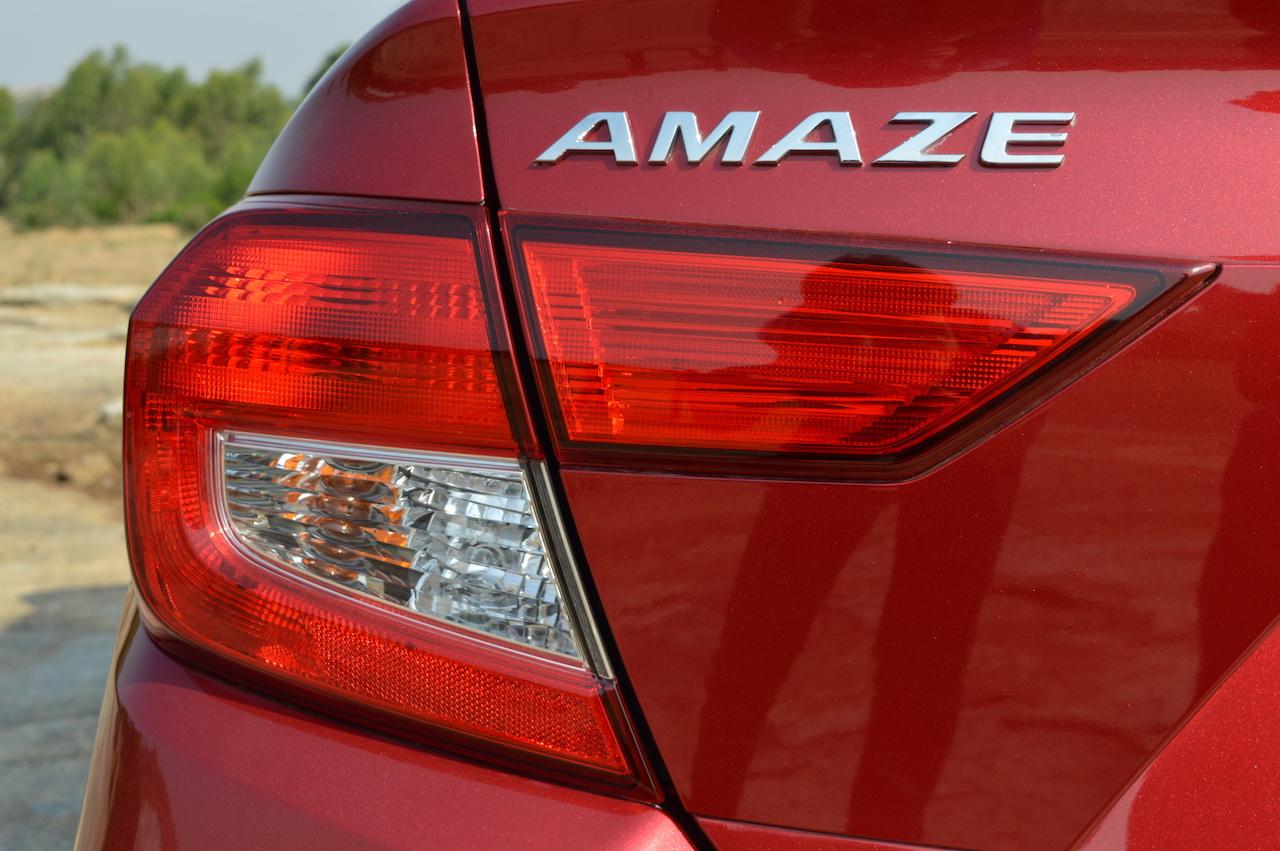 2018 Honda Amaze left-side tail lamp