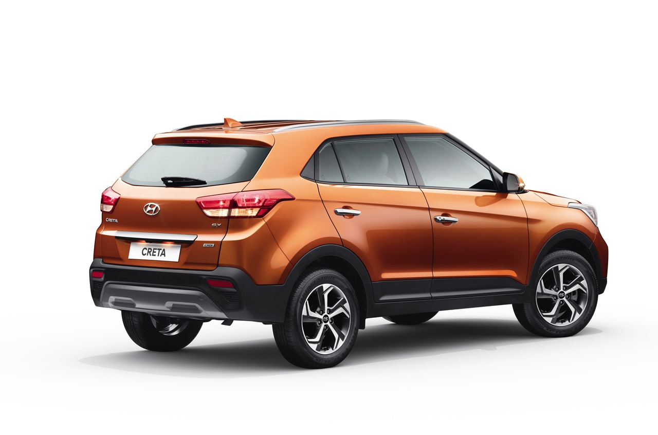 2018 Hyundai Creta facelift rear three quarters