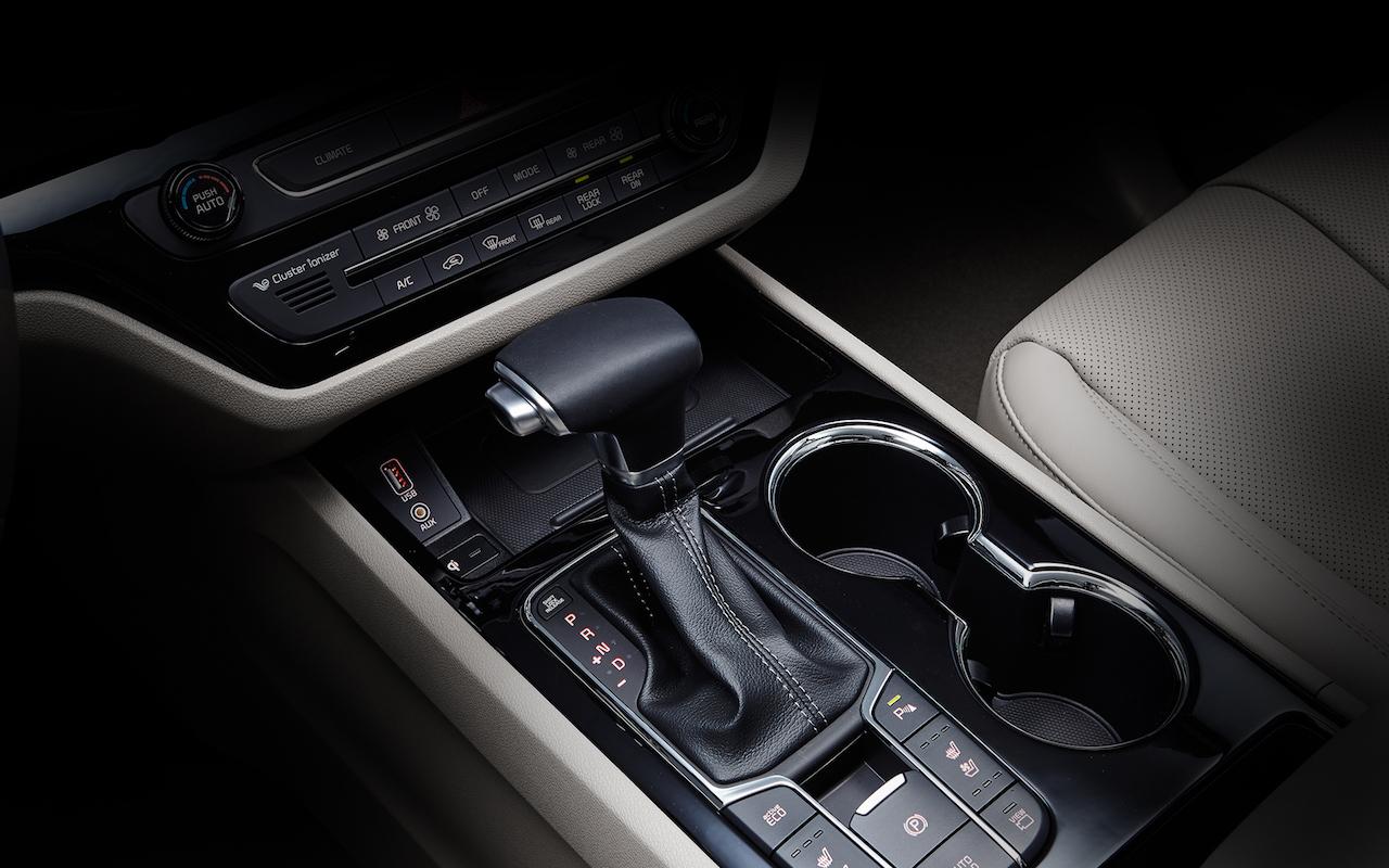 2018 Kia Carnival (facelift) gearshift lever