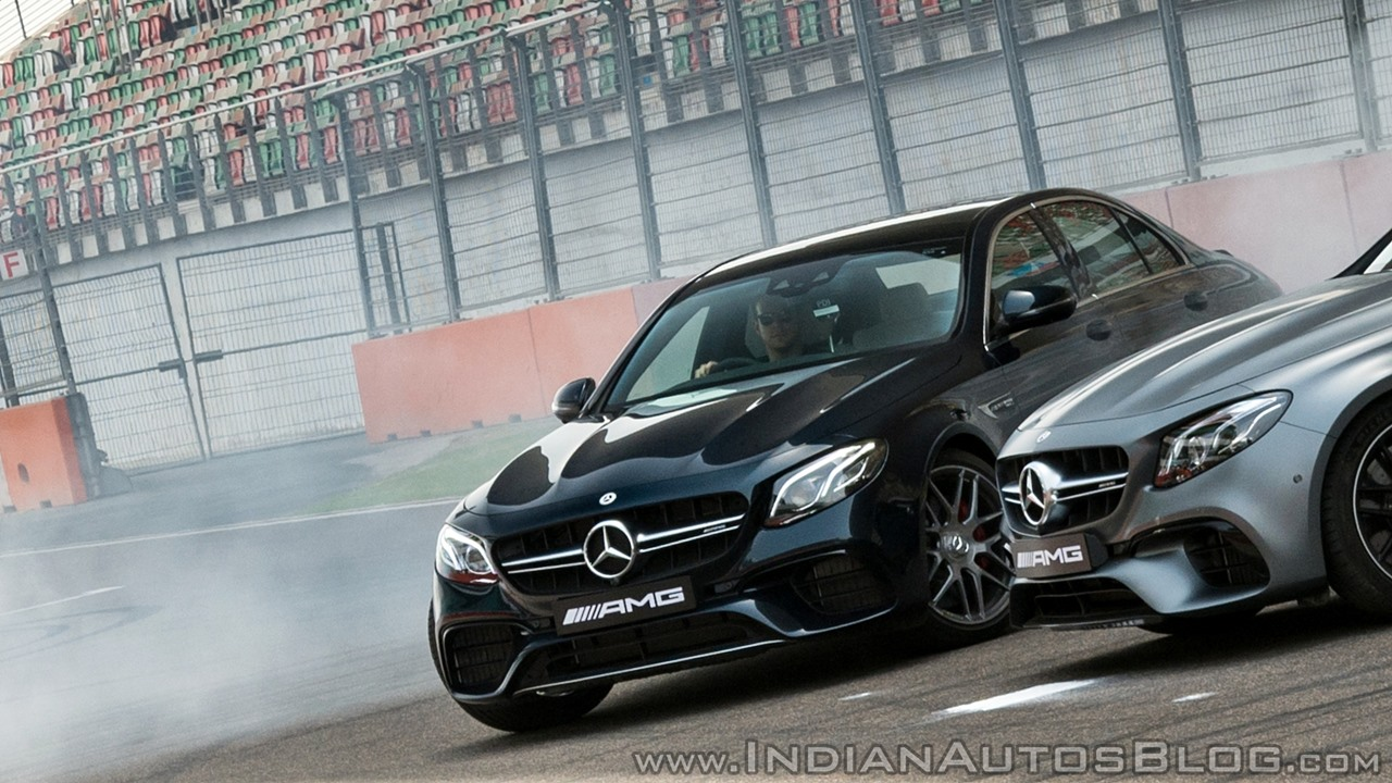 2018 Mercedes-AMG E 63 S review burnout