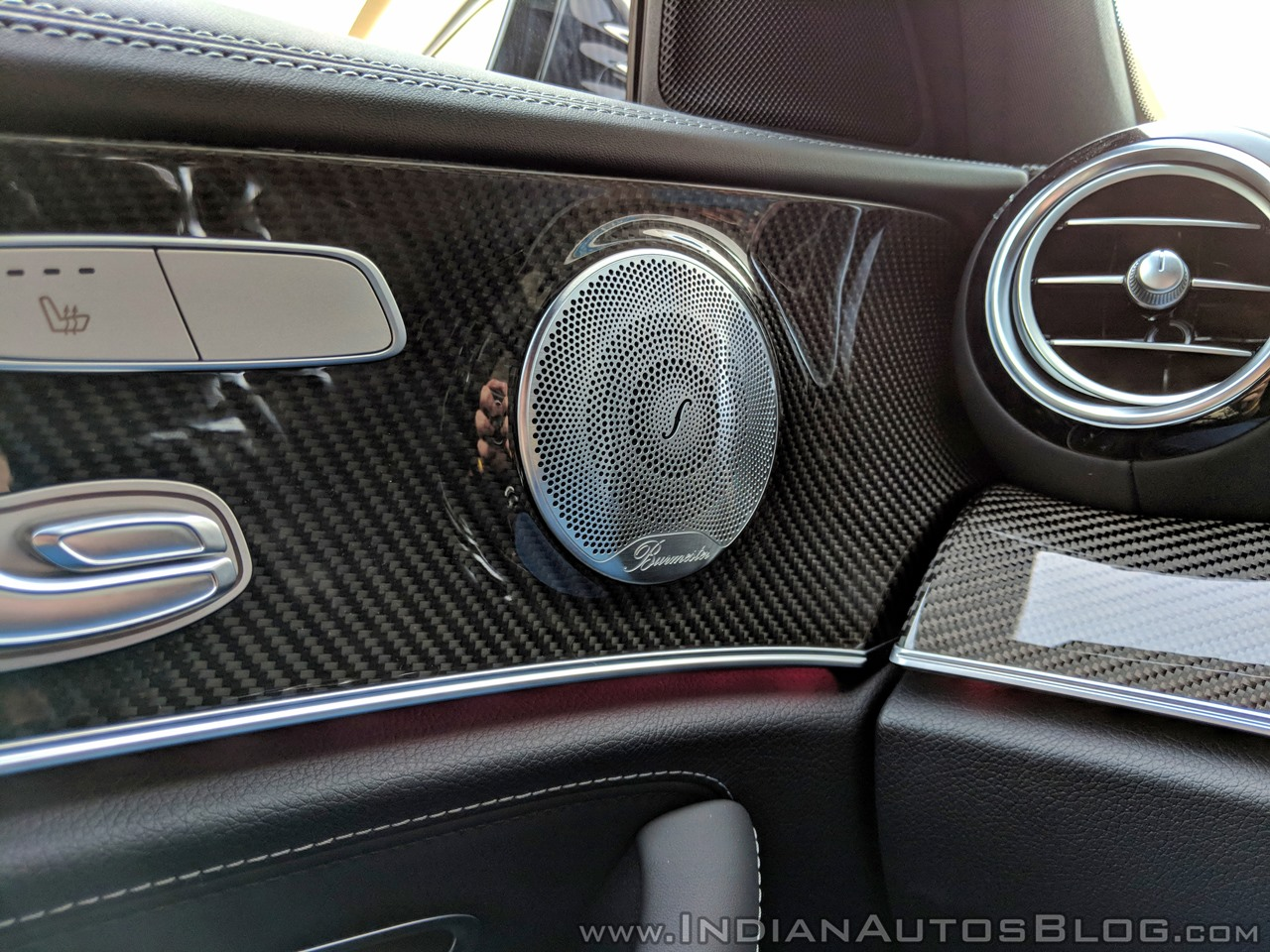 2018 Mercedes-AMG E 63 S review speaker