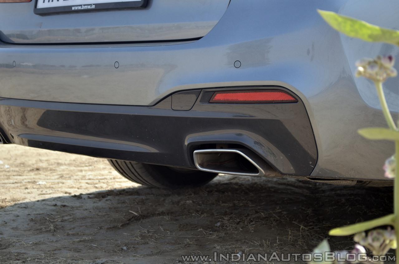 BMW 5-Series 530d review bumper close