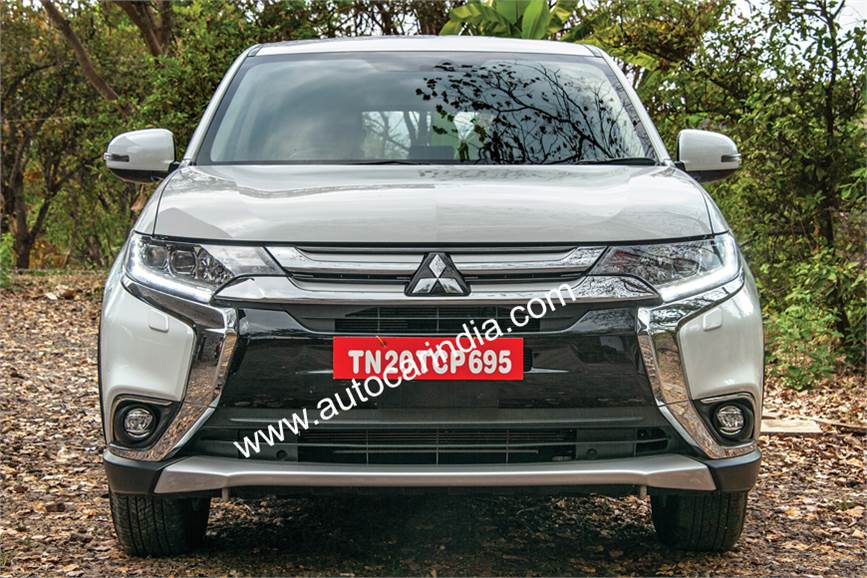 Indian-spec Mitsubishi Outlander front