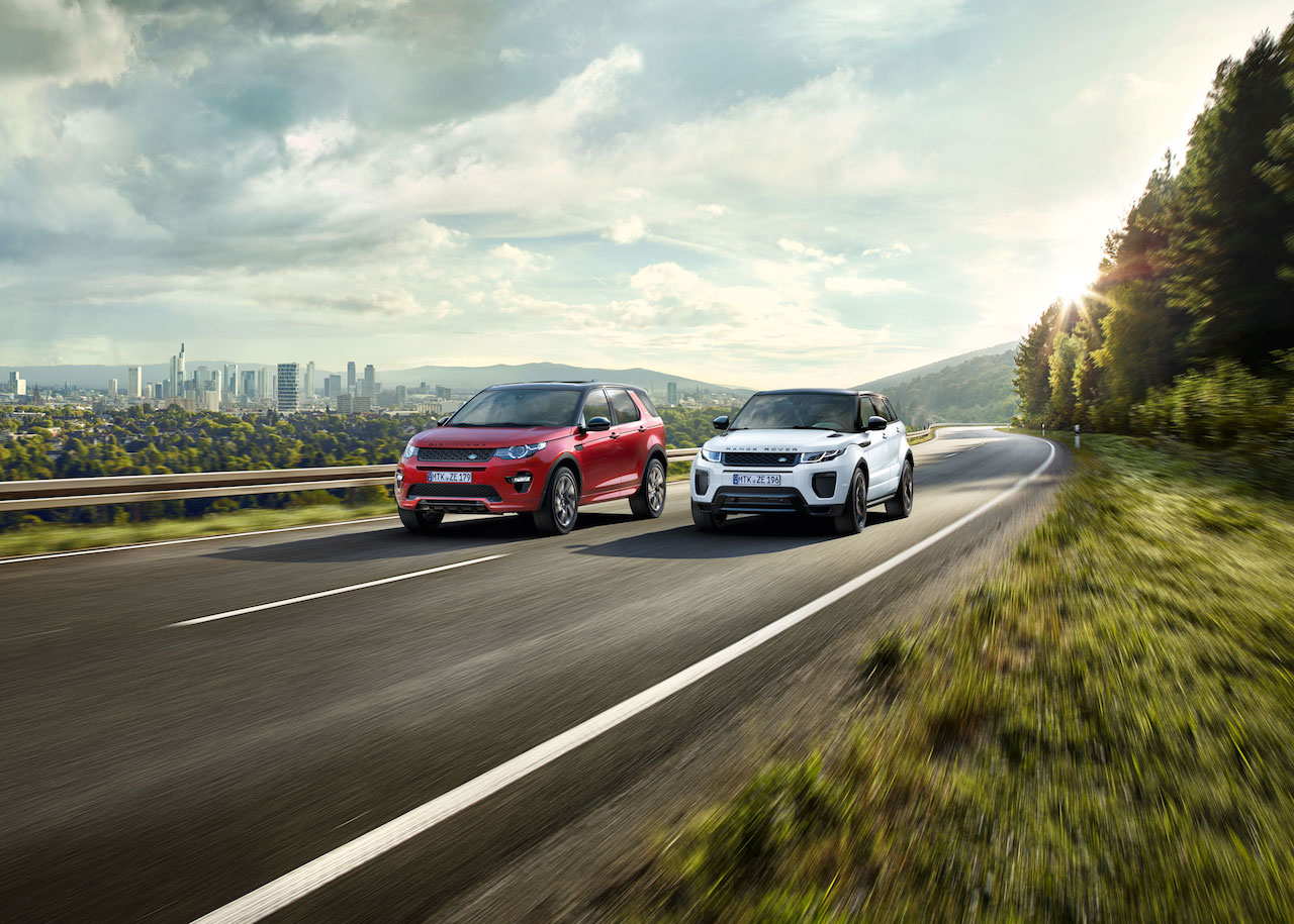 Ingenium petrol engine-powered Land Rover Discovery Sport and Range Rover Evoque