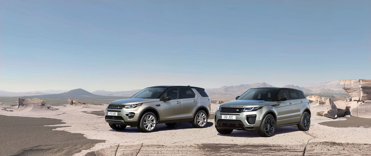 Land Rover Discovery Sport and Range Rover Evoque with Ingenium petrol engine