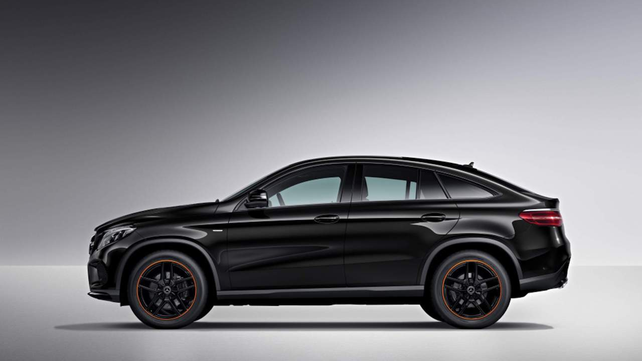 Mercedes-AMG GLE 43 4MATIC Coupe OrangeArt profile