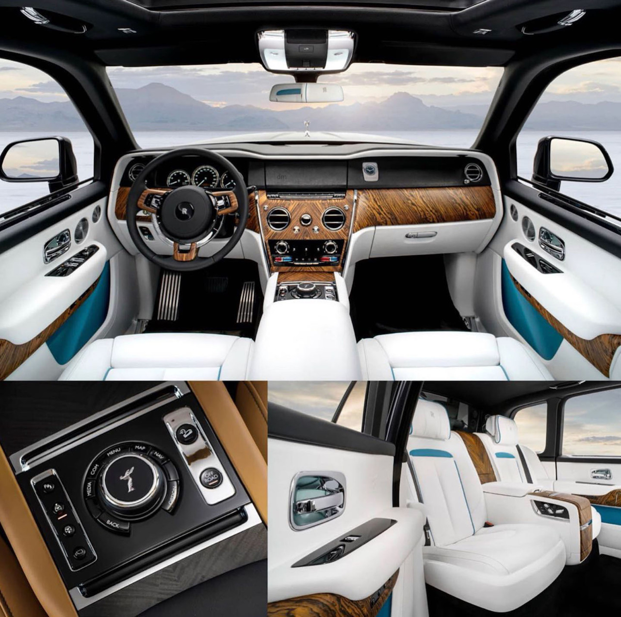 Bmw X7 Suv Price In India: Rolls-Royce Cullinan Interior Leaked Image