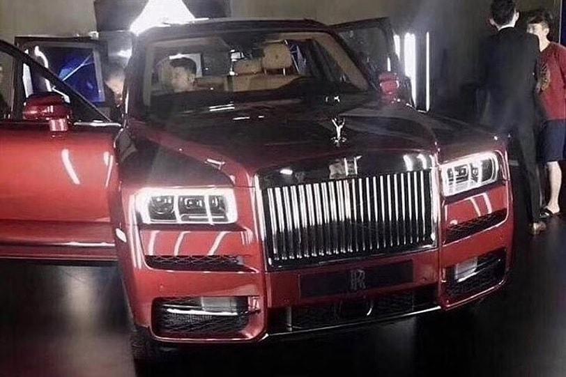 Rolls-Royce Cullinan leaked image