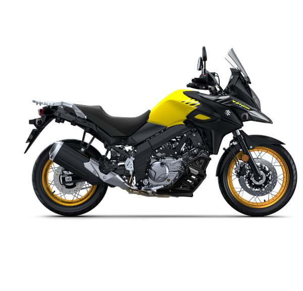 suzuki v strom 650 xt press right side. Black Bedroom Furniture Sets. Home Design Ideas