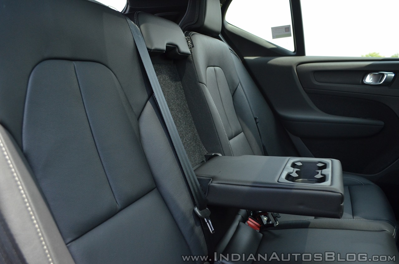 Volvo XC40 review rear seat