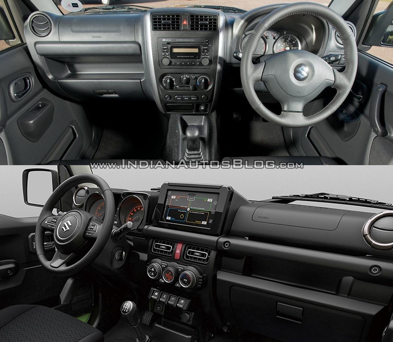 2015 Suzuki Jimny vs 2019 Suzuki Jimny - Old vs. New
