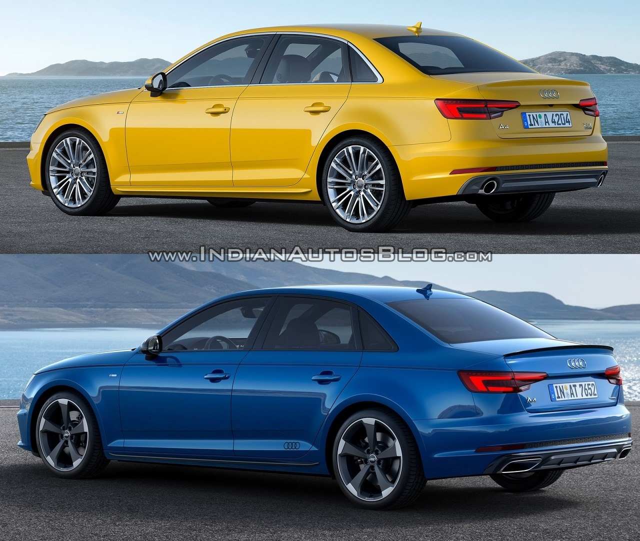 2016 Audi A4 Vs 2019 Audi A4 Old Vs New