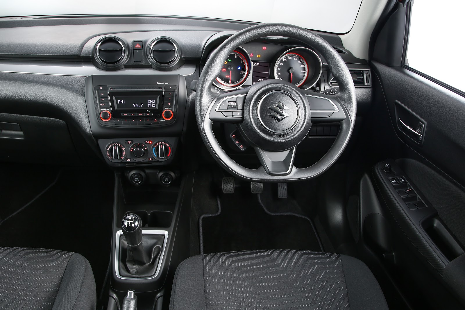 2018 Suzuki Swift dashboard