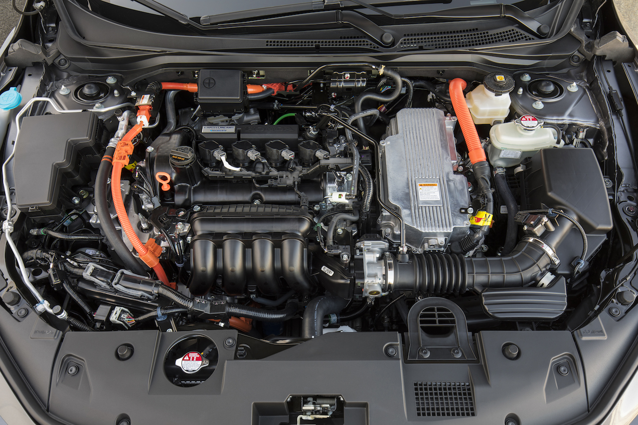 2019 Honda Insight Hybrid engine bay