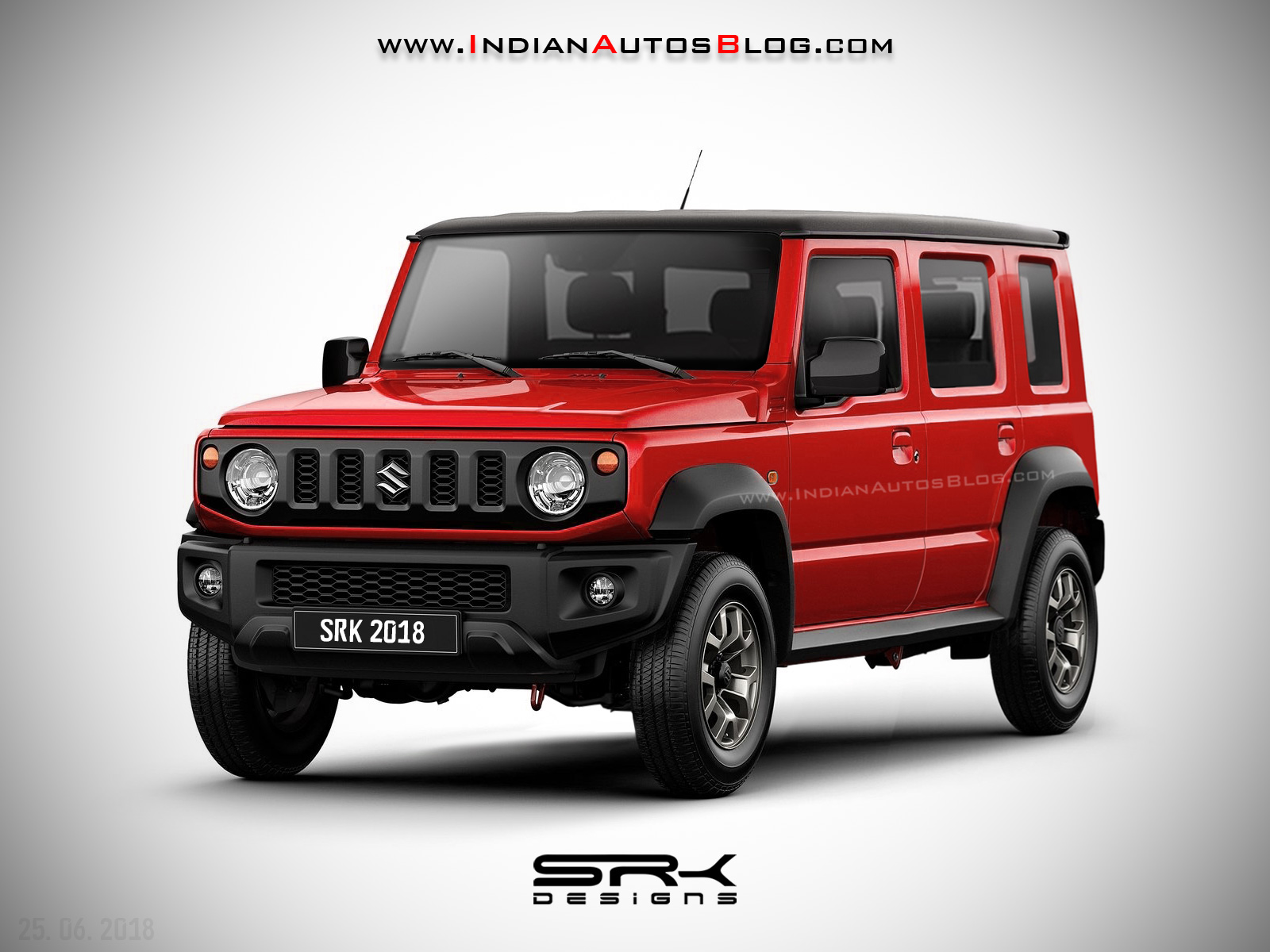 2019 Suzuki Jimny: News, Design, Release >> 2019 Suzuki Jimny 5 Door Long Wheelbase Iab Rendering