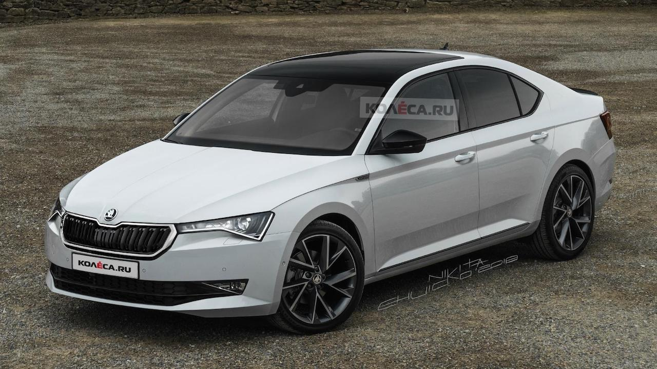 Next-gen Skoda Octavia with a sharper design rendered, could debut in 2020