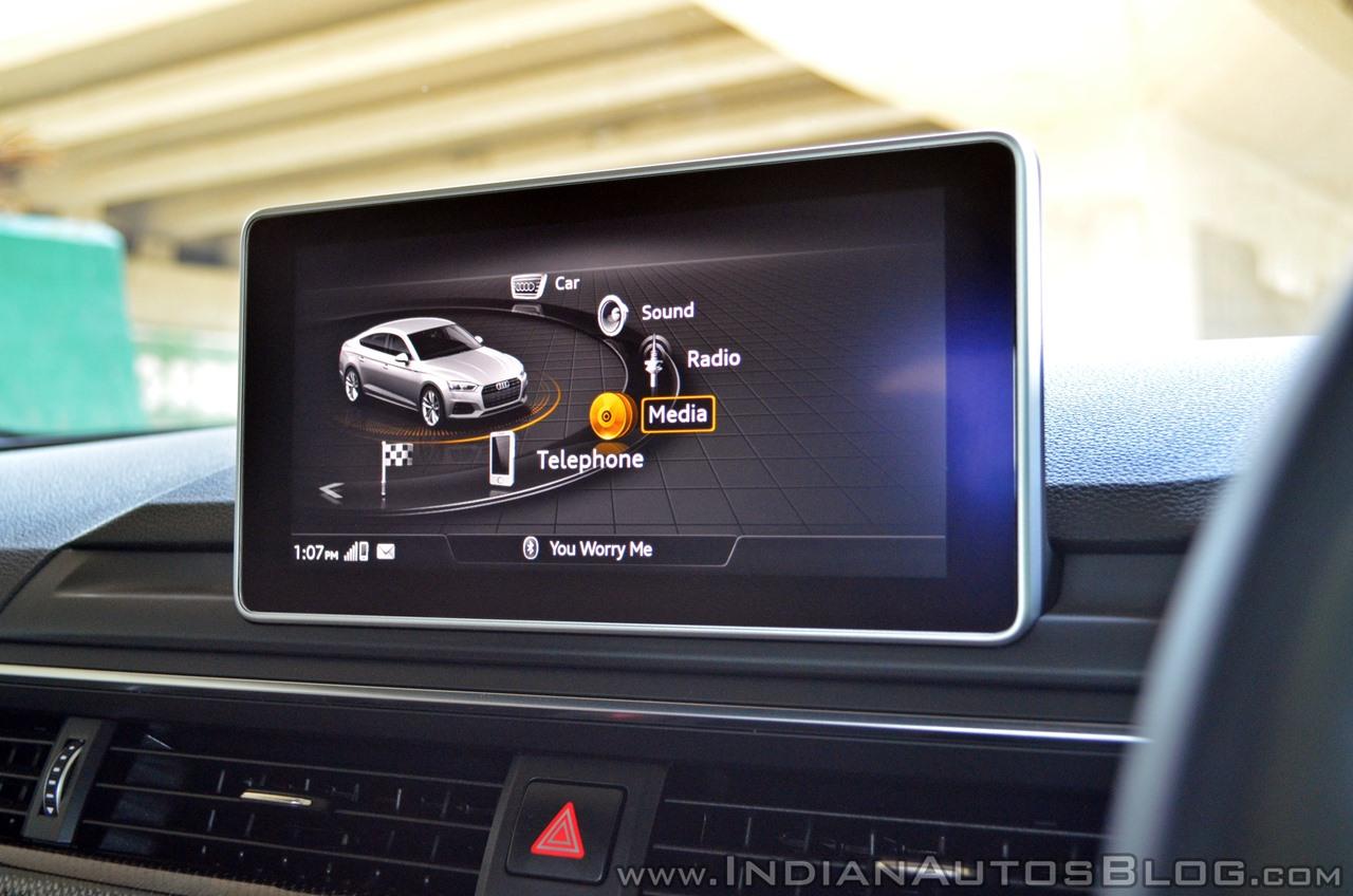 Audi S5 review MMI display