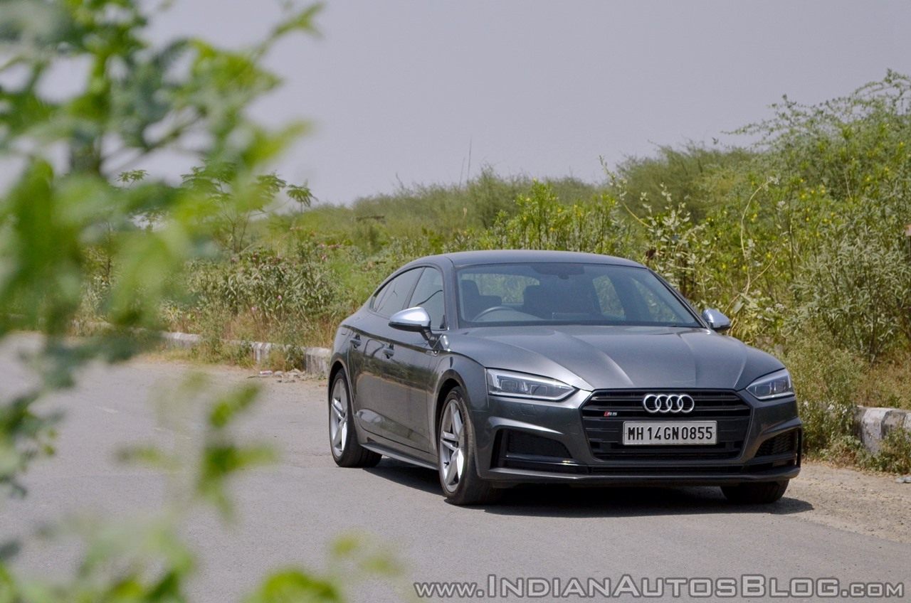 Audi S5 review front angle (2)