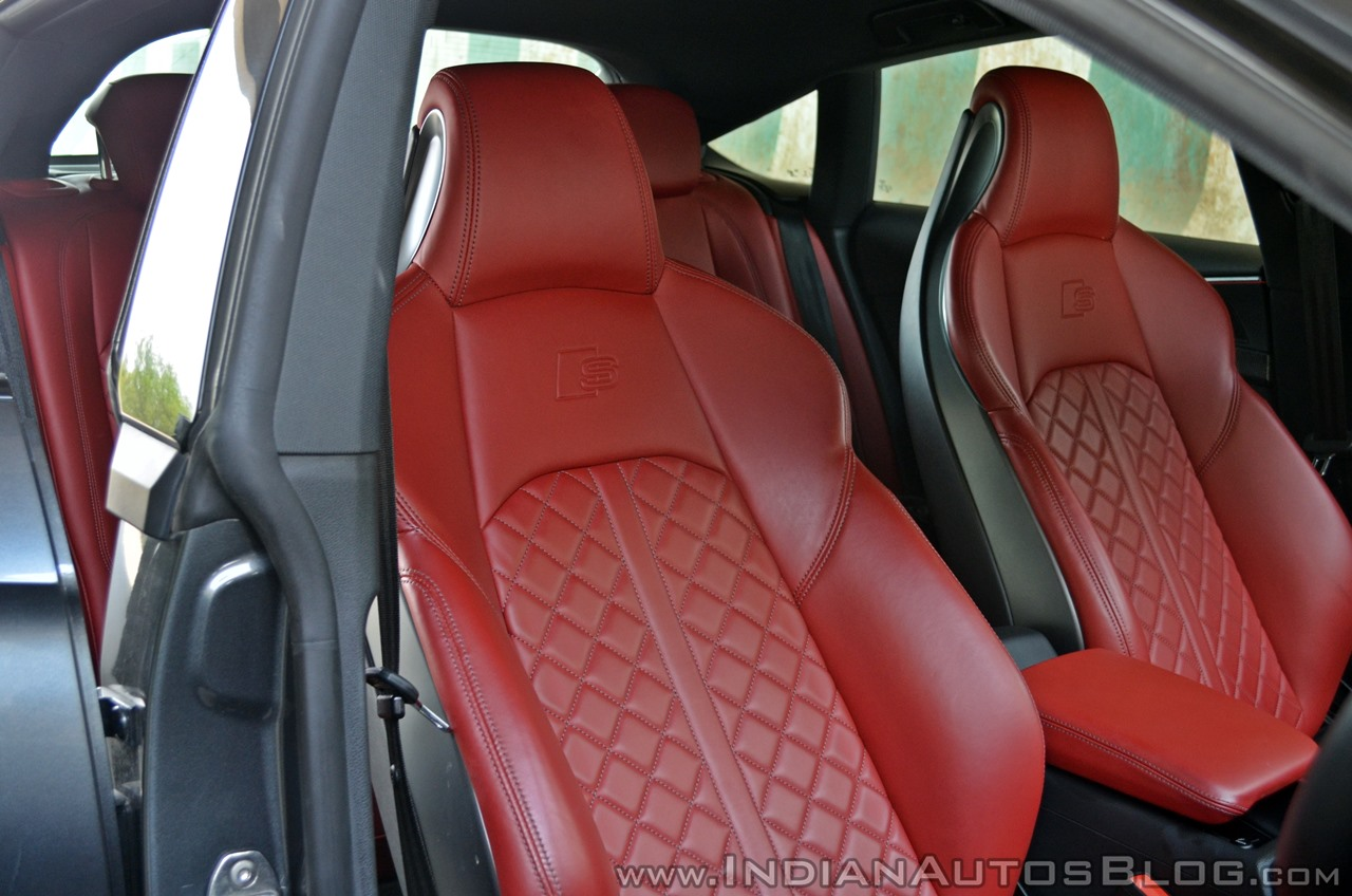 Audi S5 review seats