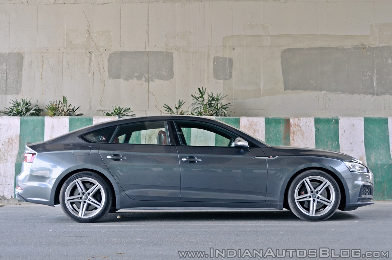 Audi S5 review side