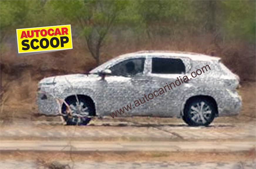 Baojun 530 (MG SUV for India) spy shot