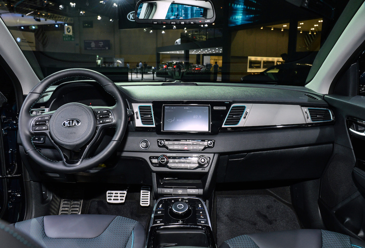 Kia Niro EV interior dashboard