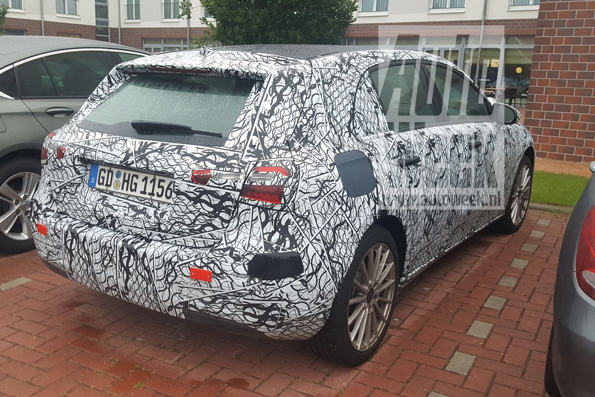 Mercedes A-Class Plug-in Hybrid exterior spy shot