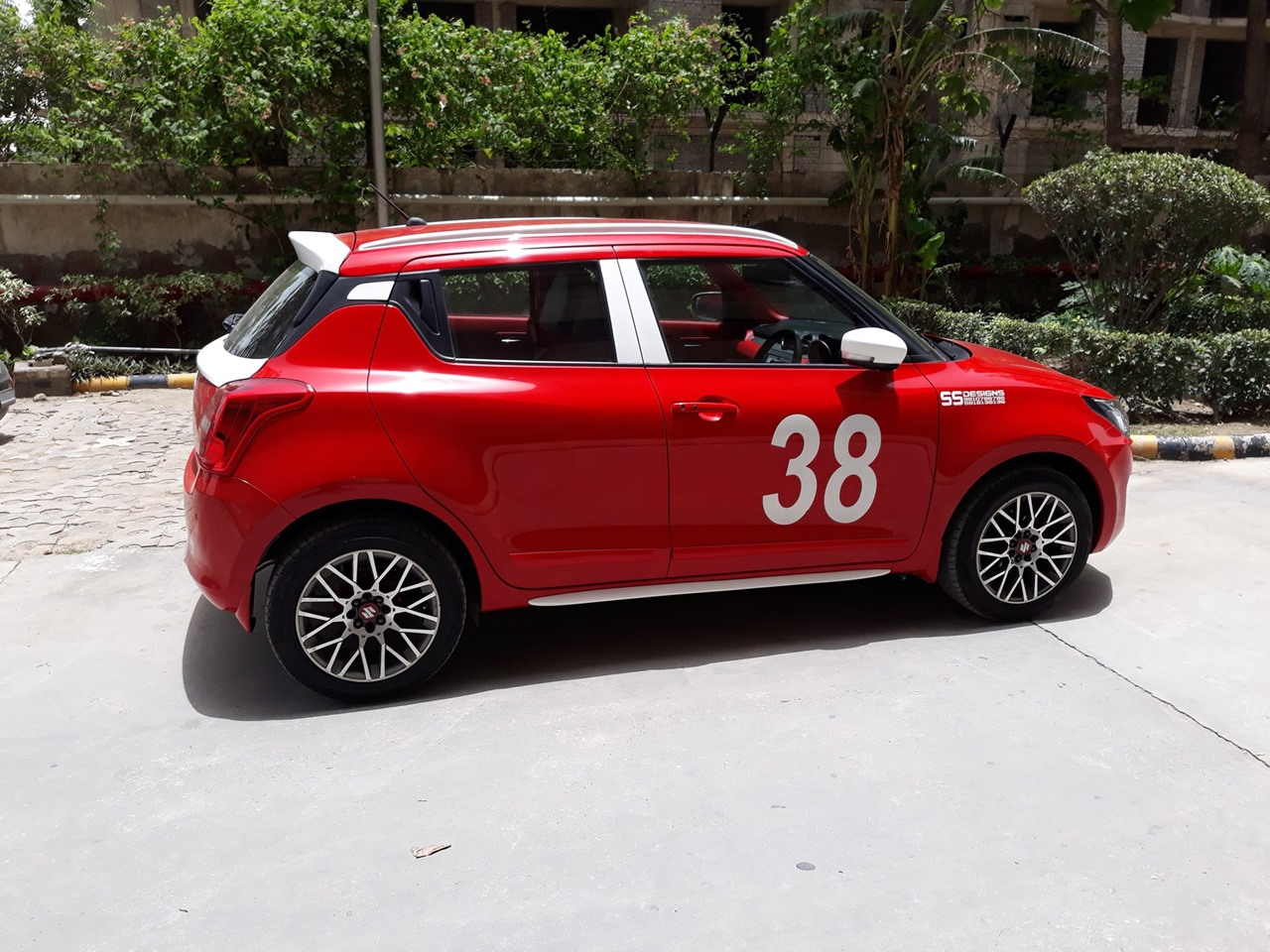 Custom 2018 Maruti Swift  U0026 39 Sports U0026 39  By Ss Designs