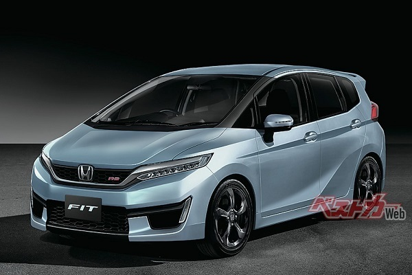 Next-gen Honda Jazz (Honda Fit) rendering