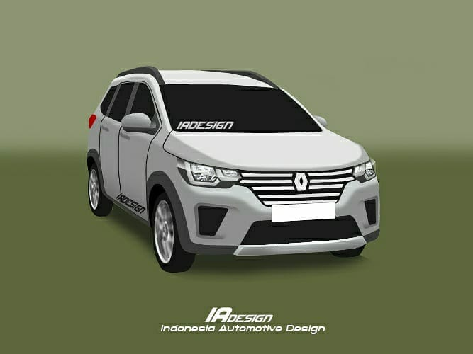 Renault RBC (Renault Compact MPV) render