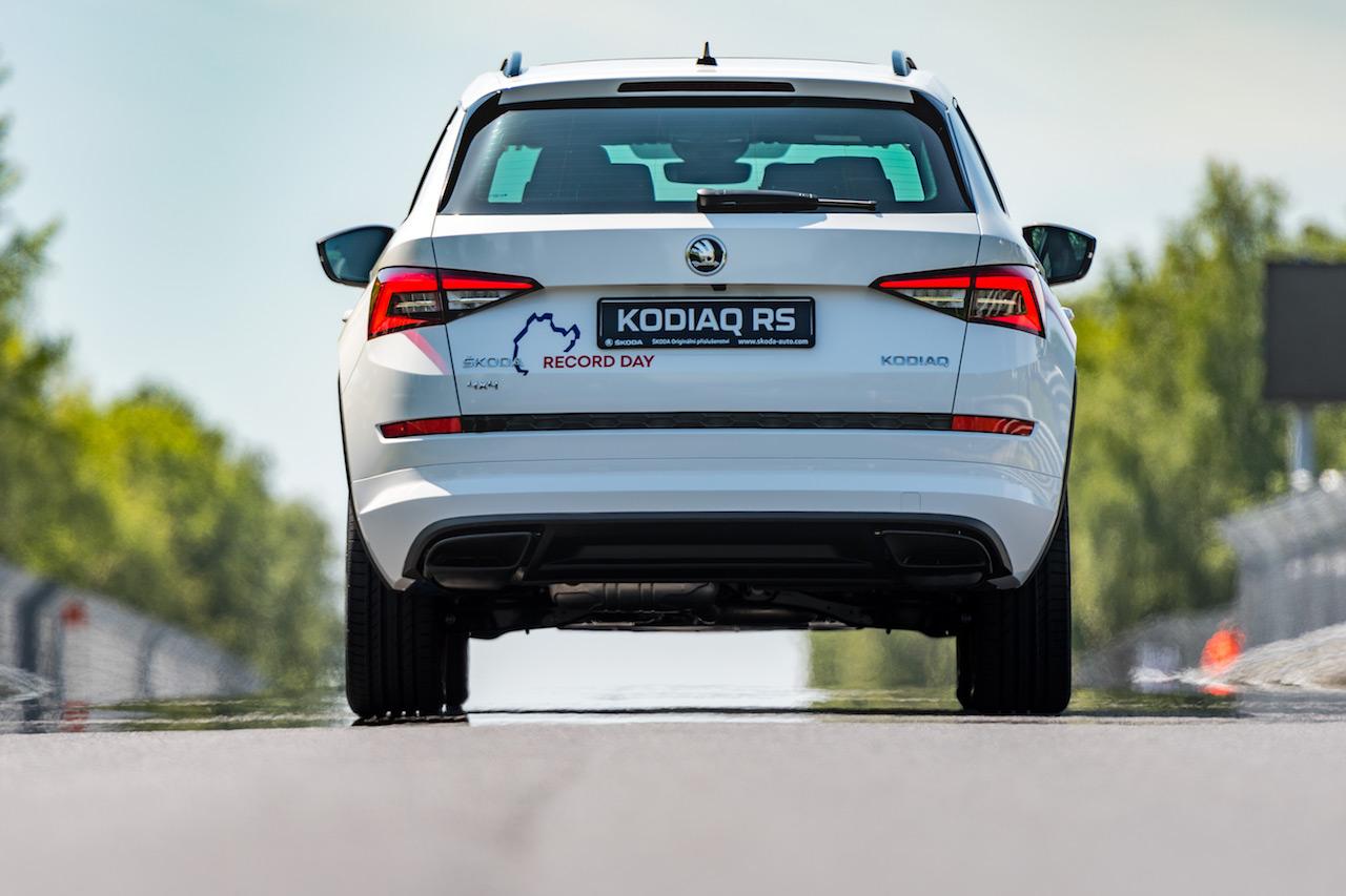 Skoda Kodiaq RS rear