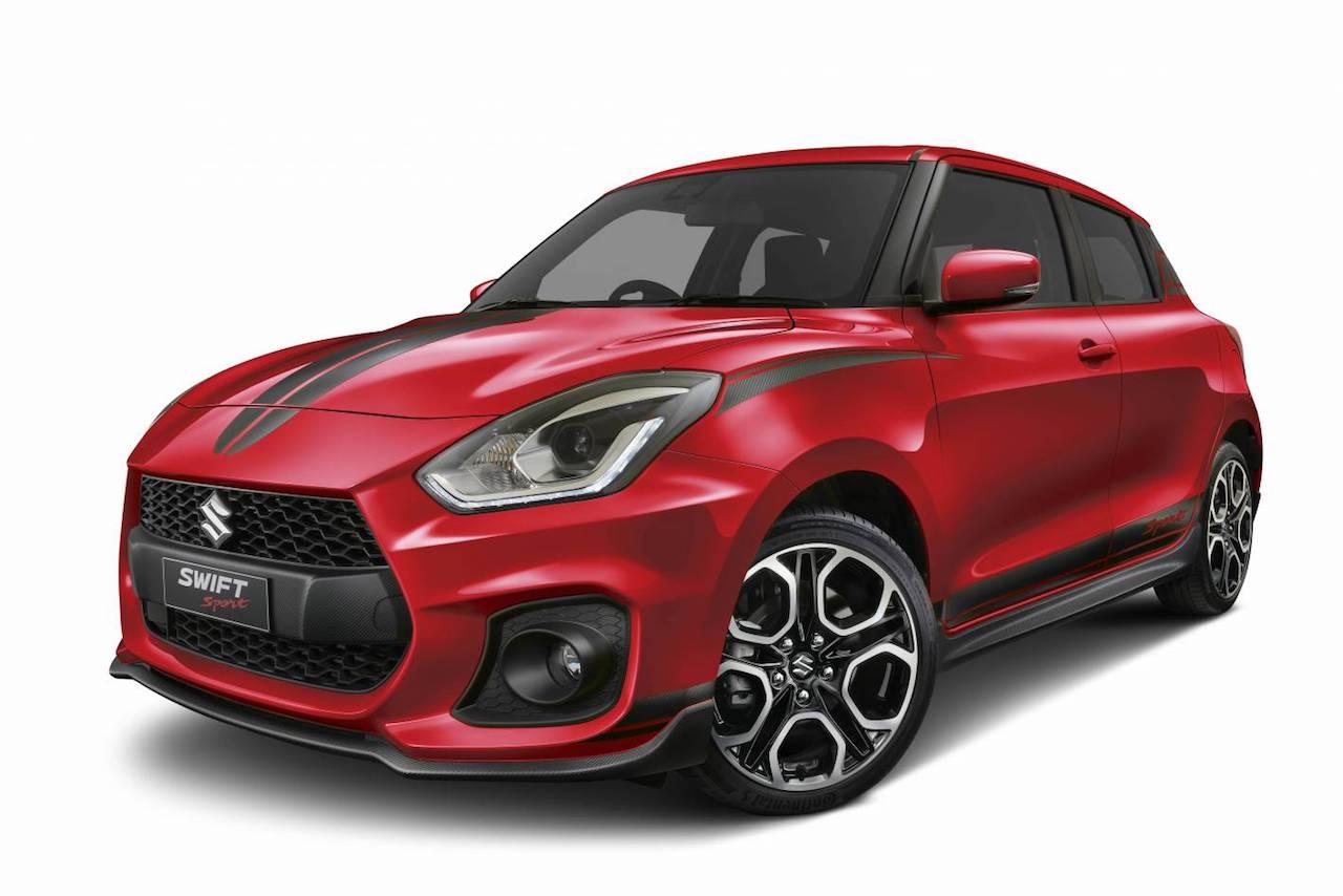 Suzuki Swift Sport Red Devil front three quarters