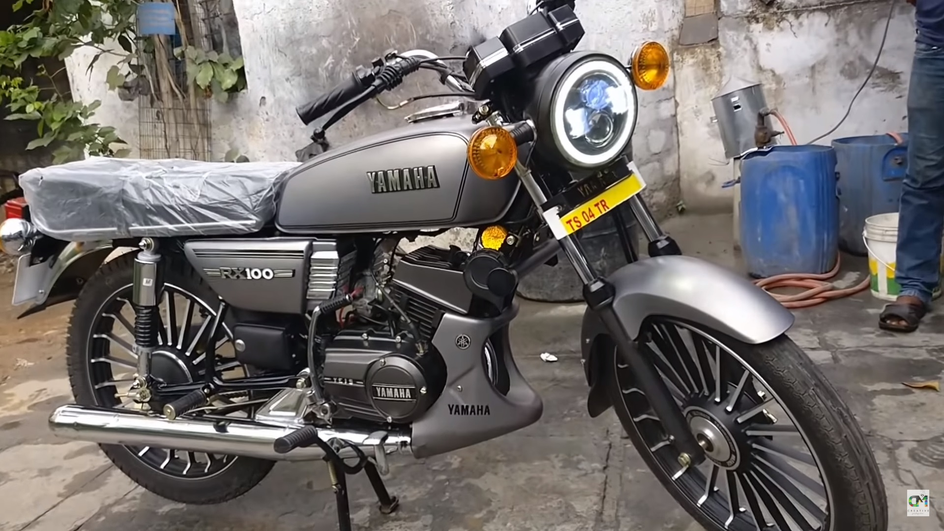 every yamaha rx100 lover must see this factory reset unit